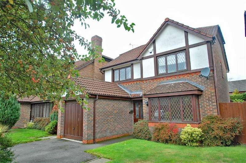 4 Bedrooms Detached House for sale in Sunbury Close, Wilmslow, Cheshire