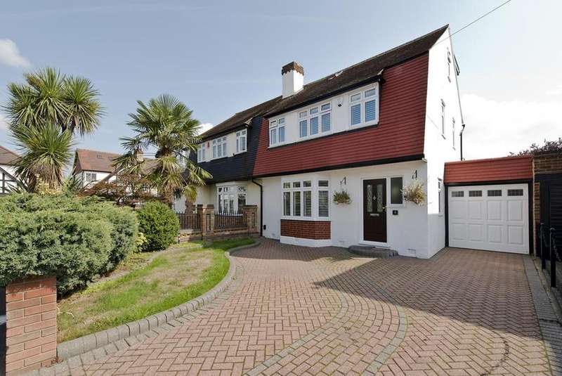 4 Bedrooms Semi Detached House for sale in Beech Avenue, Upminster, Essex, RM14