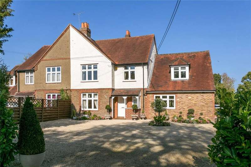 5 Bedrooms Semi Detached House for sale in Widmoor, Wooburn Green, High Wycombe, Buckinghamshire, HP10