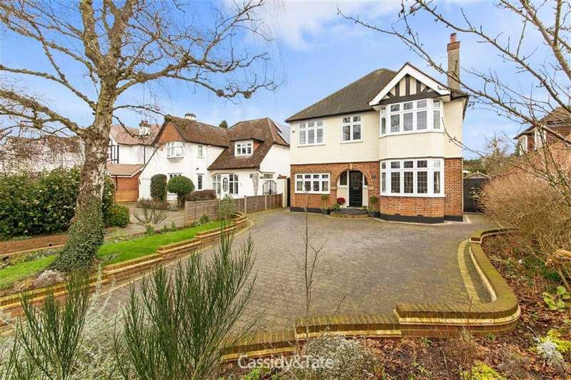 4 Bedrooms Detached House for sale in Beaumont Avenue, St Albans, Hertfordshire