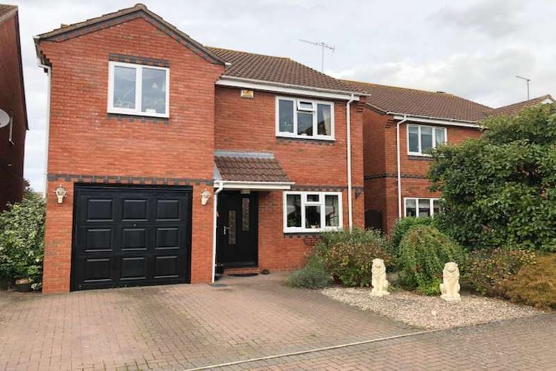 4 Bedrooms Detached House for sale in Christina Close, Kempsey, Worcester, WR5