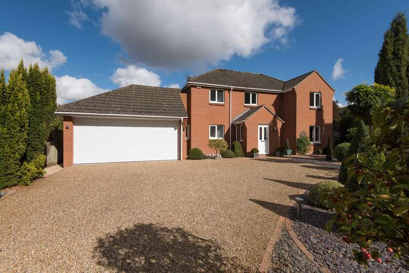 4 Bedrooms Detached House for sale in Hinshalwood Way, Old Costessey, Norwich