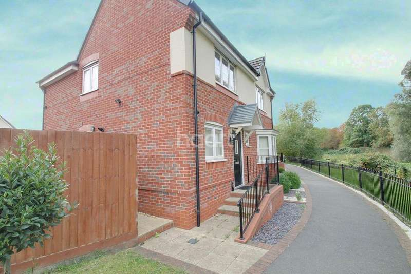 4 Bedrooms Detached House for sale in Riverbank Walk, Aylestone
