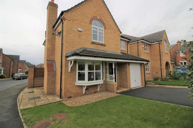 4 Bedrooms Detached House for sale in Gadbrook Grove, Atherton, Manchester