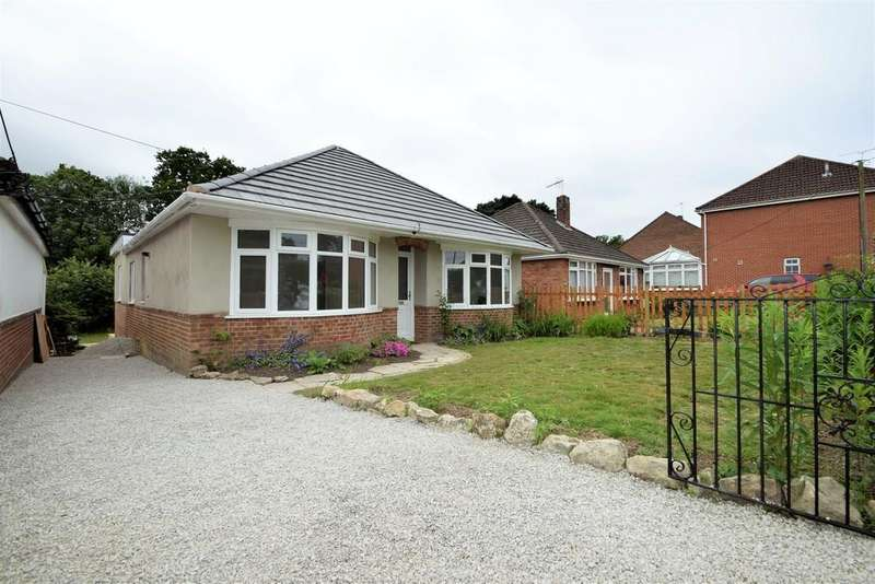 3 Bedrooms Detached Bungalow for sale in Lower Northam Road, Hedge End