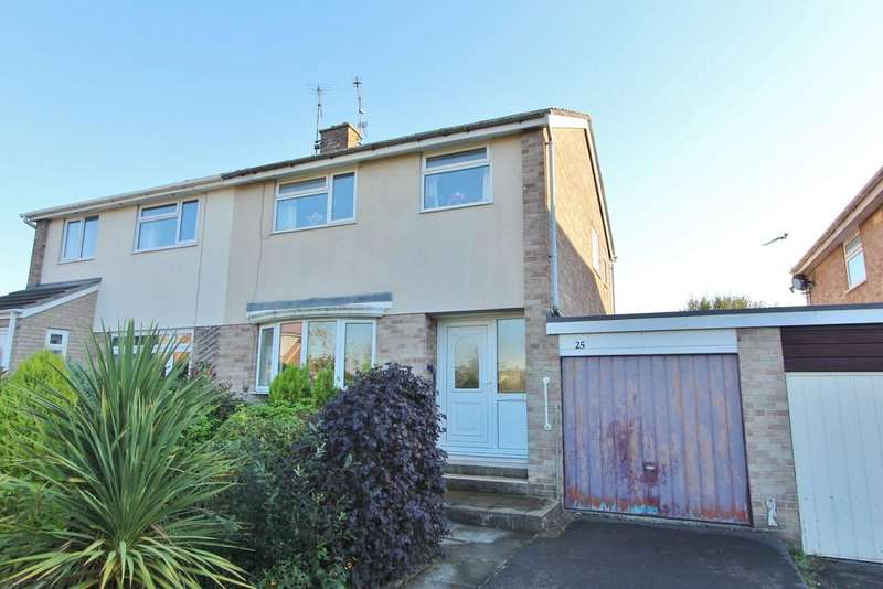 3 Bedrooms Semi Detached House for sale in Stonewell Drive, Congresbury