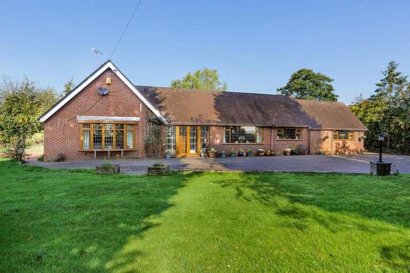 4 Bedrooms Detached Bungalow for sale in Aston Juxta Mondrum, Cheshire