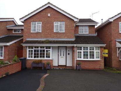 4 Bedrooms Detached House for sale in Willow Tree Close, Barwell, Leicester, Leicestershire