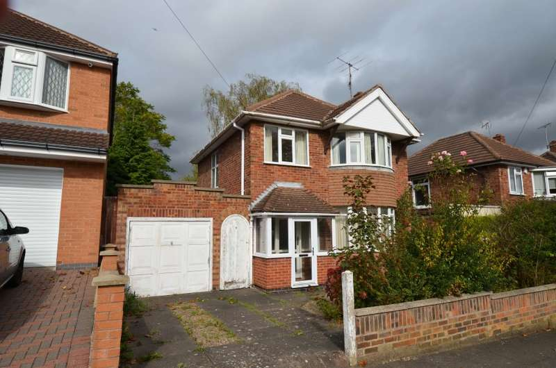 3 Bedrooms Detached House for sale in 9 Englefield Road, Leicester
