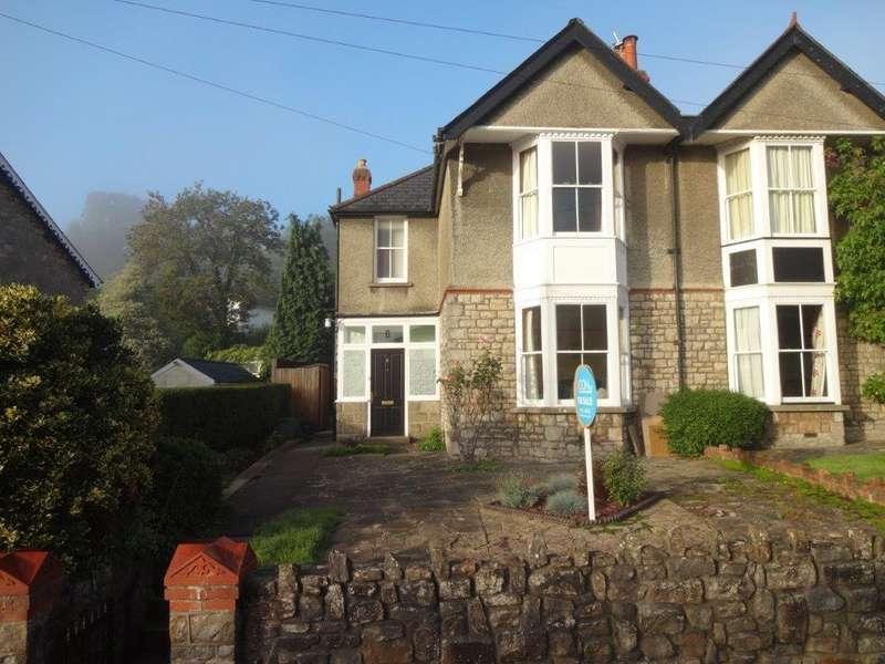 3 Bedrooms Semi Detached House for sale in Hardwick Avenue, Chepstow