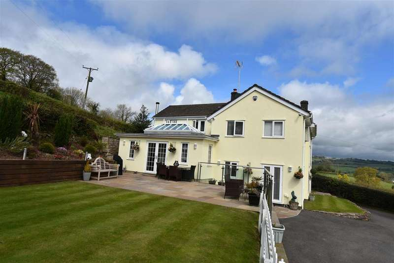 4 Bedrooms Detached House for sale in Yew Tree Cottage Usk Road, Chepstow
