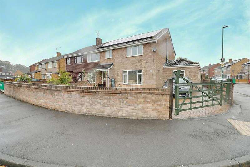 5 Bedrooms Semi Detached House for sale in Young Close, Hemphill Vale