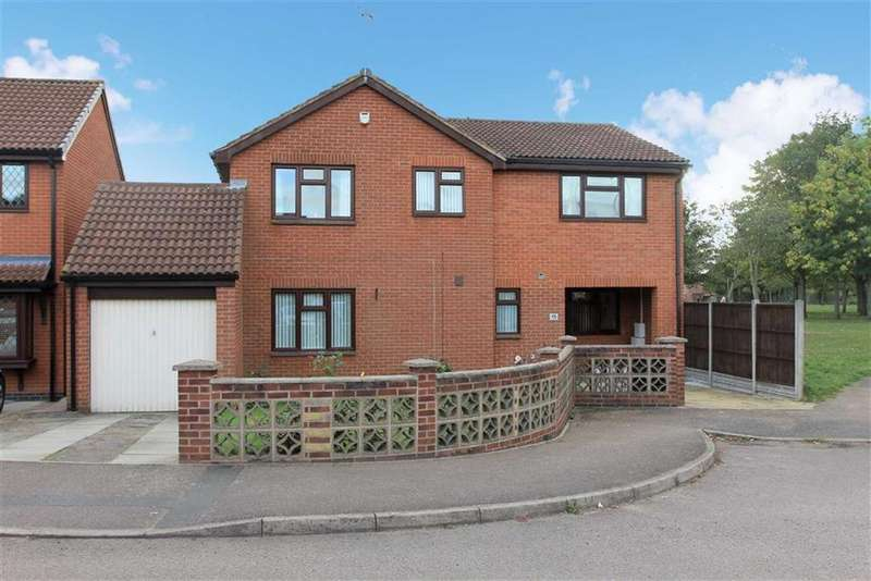 5 Bedrooms Detached House for sale in Barnes Close, Rushey Mead, Leicester