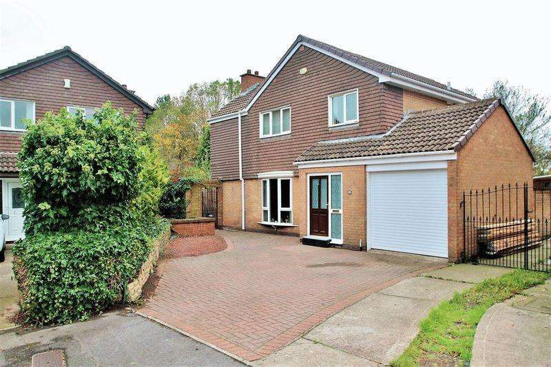 4 Bedrooms Detached House for sale in Wansford Close, Billingham