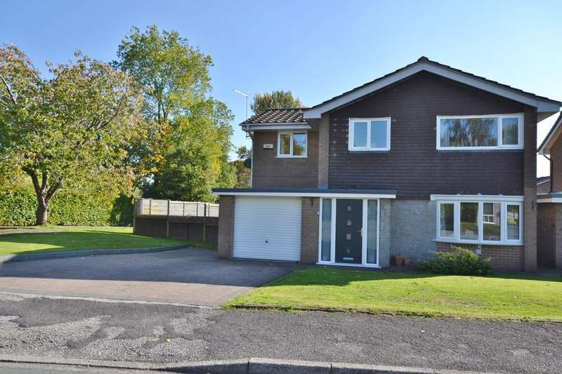 4 Bedrooms Detached House for sale in Derwent Close, Holmes Chapel