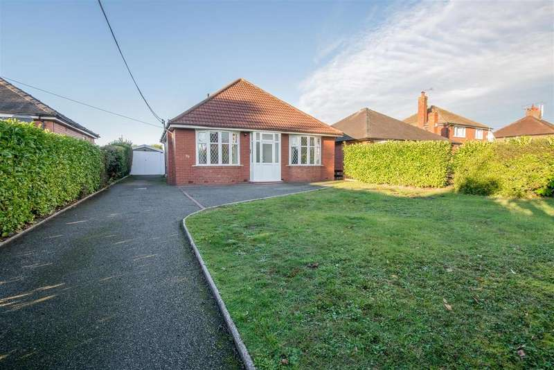 3 Bedrooms Detached Bungalow for sale in Church Lane, Wistaston, Crewe