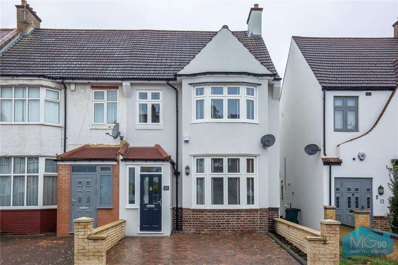 3 Bedrooms End Of Terrace House for sale in Ridgeview Road, Whetstone, London, N20