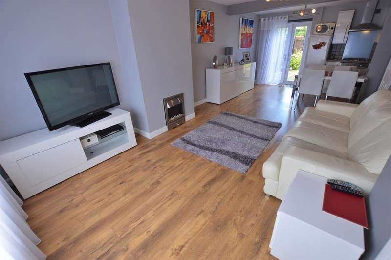 2 Bedrooms End Of Terrace House for sale in Ambleside Drive, Leicester, LE2 9FB