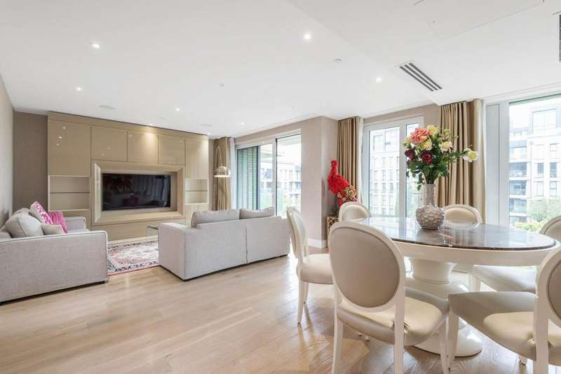 4 Bedrooms Flat for sale in Central Avenue, Fulham