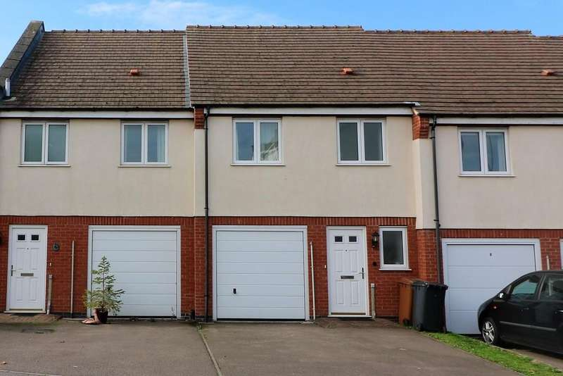 3 Bedrooms Terraced House for sale in Navigation Close, Melton Mowbray