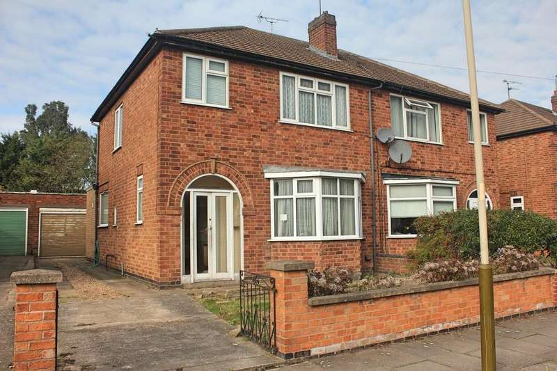3 Bedrooms Semi Detached House for sale in Northdene Road, Knighton, Leicester
