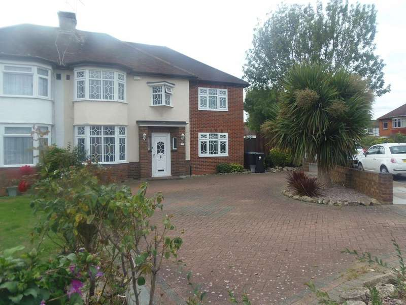 5 Bedrooms Semi Detached House for sale in Keswick Drive, EN3