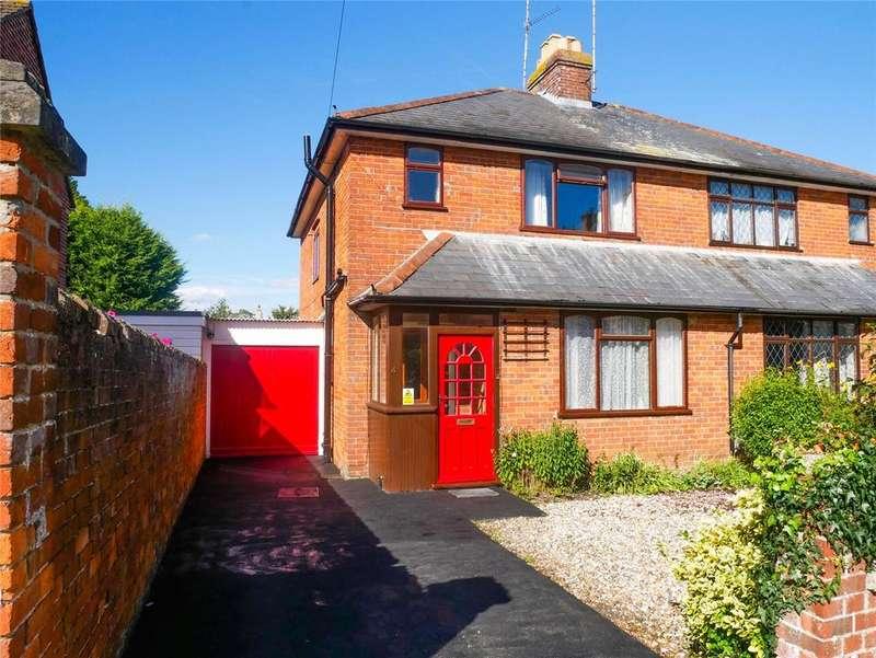 3 Bedrooms Semi Detached House for sale in Priory Road, Newbury, Berkshire, RG14
