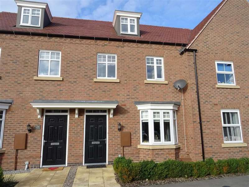 3 Bedrooms Town House for sale in William Spencer Avenue, Sapcote