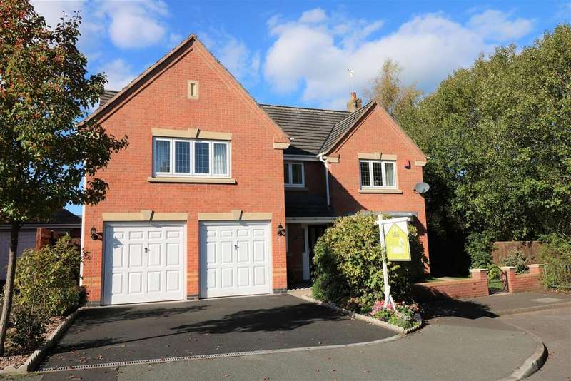 5 Bedrooms Detached House for sale in Woodburn Road, Norton Chase, Stoke-on-Trent
