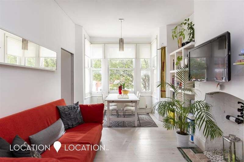 2 Bedrooms Flat for sale in Carysfort Road, London