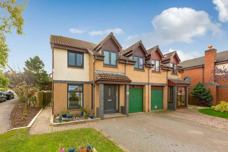 4 Bedrooms Semi Detached House for sale in 32 Stoneyflatts Park, South Queensferry, EH30 9YL
