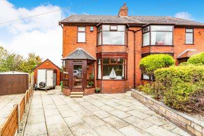 3 Bedrooms Semi Detached House for sale in St. Marys Avenue, Deane, Bolton, Greater Manchester, BL3