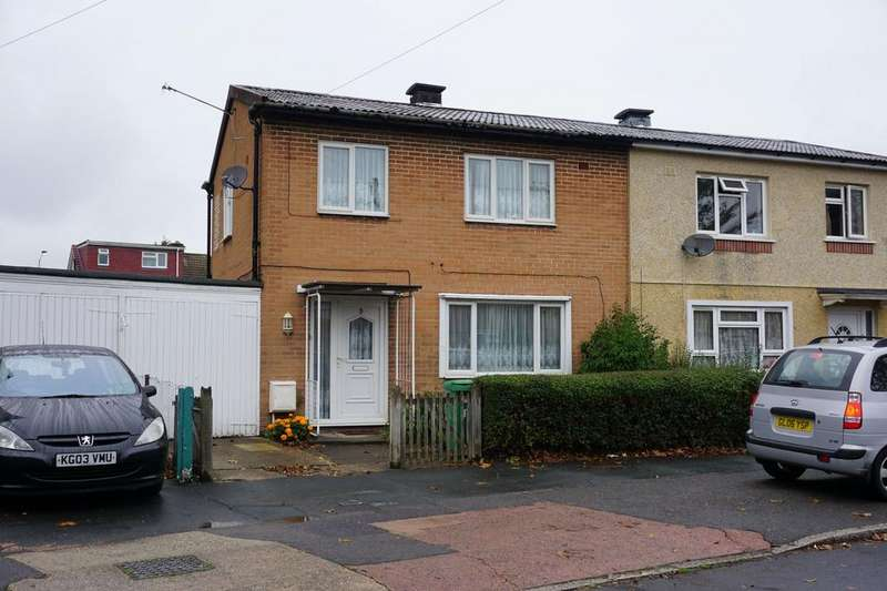 3 Bedrooms Semi Detached House for sale in Cromwell Drive, Slough