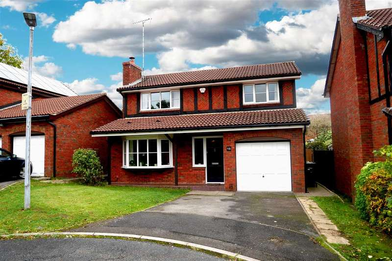 4 Bedrooms Detached House for sale in Sutherland Drive, Macclesfield