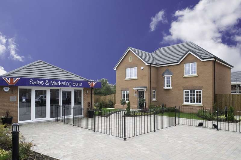 4 Bedrooms Detached House for sale in Chadwick Gardens Garstang Road, Little Eccleston, Preston, PR3