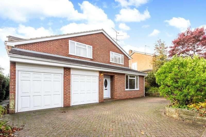 4 Bedrooms Detached House for sale in Kestrel Road, Kempshott, Basingstoke, Hampshire, RG22