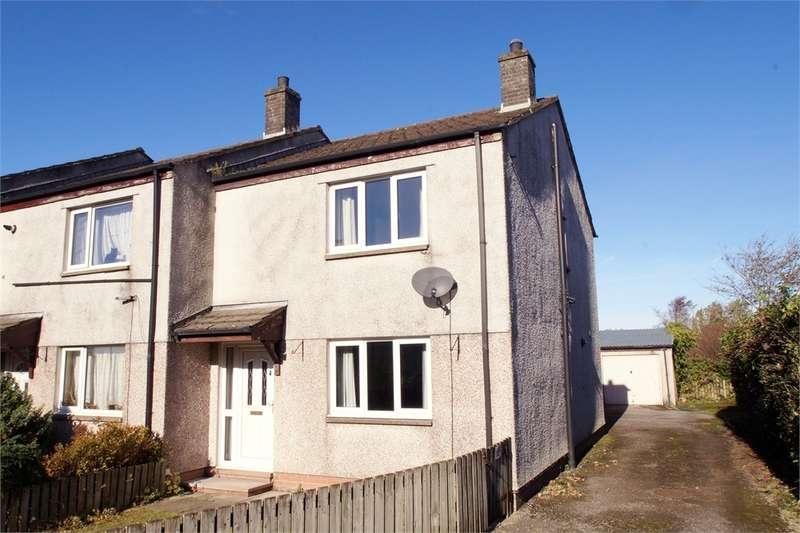 3 Bedrooms Semi Detached House for sale in CA7 1BS School Gardens, Fletchertown, Wigton, Cumbria