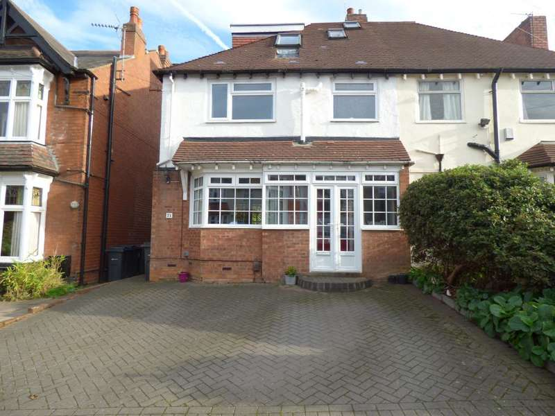 4 Bedrooms Semi Detached House for sale in Park Hill Road, Harborne, Birmingham, B17 9HH