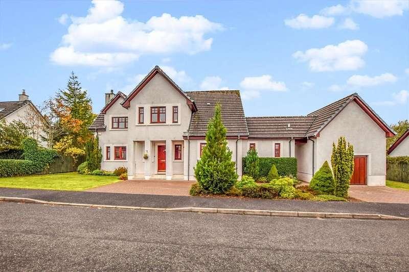 3 Bedrooms Detached House for sale in Colt Gardens, Auchterarder