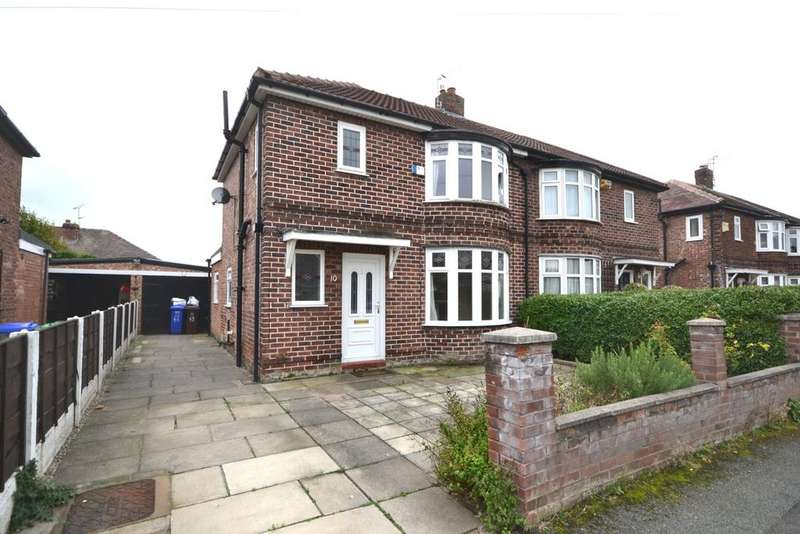 3 Bedrooms Semi Detached House for sale in Laneside Road, East Didsbury