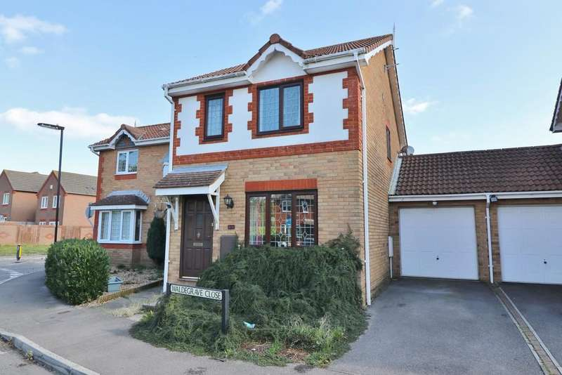 3 Bedrooms Semi Detached House for sale in Waldegrave Close, Weston
