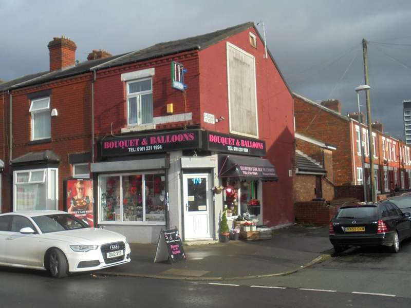 1 Bedroom Terraced House for sale in SHOP Chapman Street, Manchester, M18