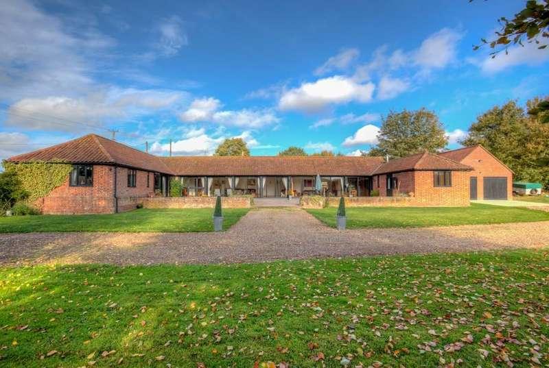 4 Bedrooms Barn Conversion Character Property for sale in Castlings Heath, Groton, Sudbury CO10 5EU