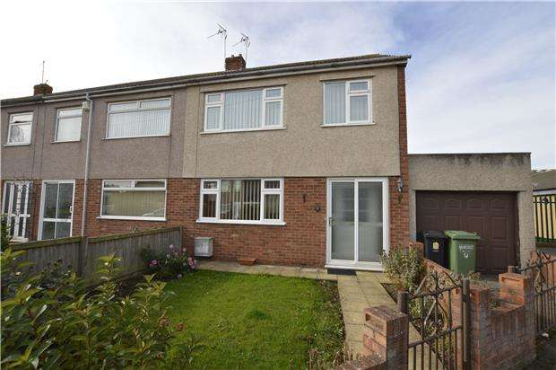 3 Bedrooms End Of Terrace House for sale in Holmwood Close, Winterbourne, BRISTOL, BS36 1JZ
