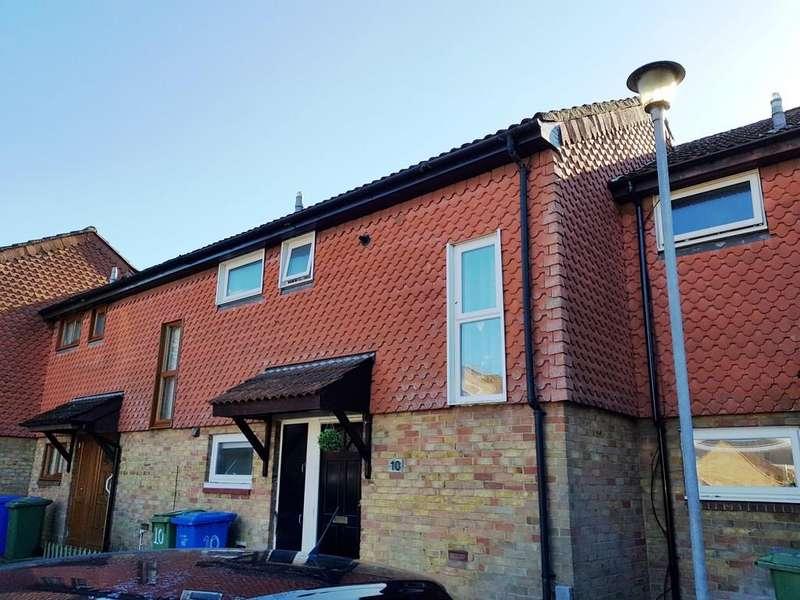 2 Bedrooms Terraced House for sale in Caesar Court, Aldershot
