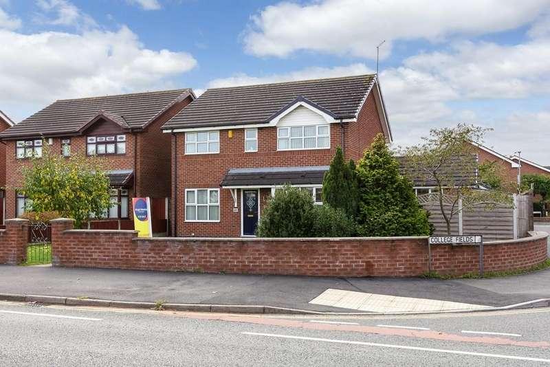 4 Bedrooms Detached House for sale in Dane Bank Avenue, Crewe