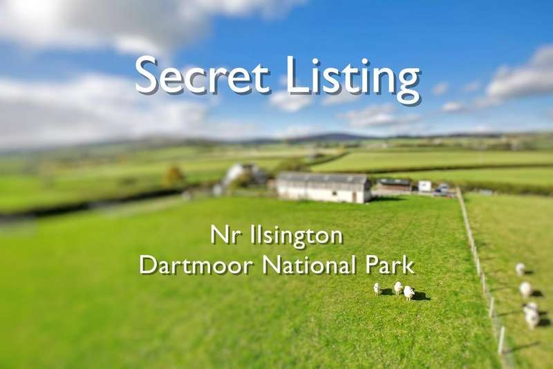 4 Bedrooms Detached House for sale in Near Ilsington/Bickington, Dartmoor