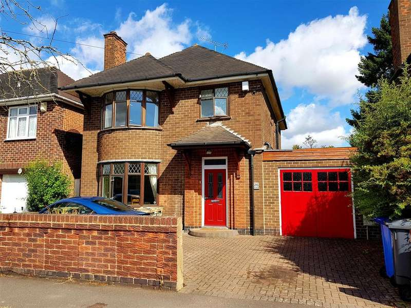 3 Bedrooms Detached House for sale in West Drive, Mickleover, Derby