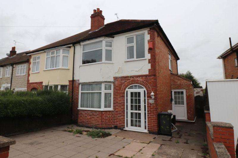 3 Bedrooms Semi Detached House for sale in Belvoir Drive East, Leicester
