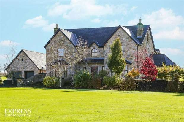 6 Bedrooms Detached House for sale in Killeeshill Road, Ballygawley, Dungannon, County Tyrone
